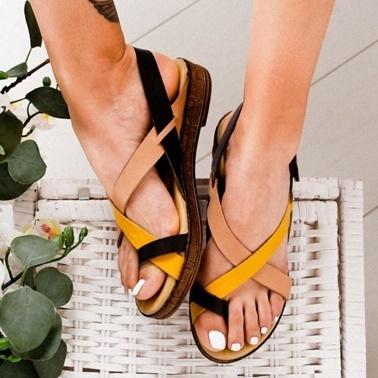 Limoya Sandalet Hardal